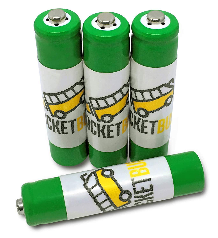 4 -パックrocketbus AAA NiMH充電式電池for Uniden AT & T VTECH Panasonicコードレスホームオフィス電話   B075NZR77S
