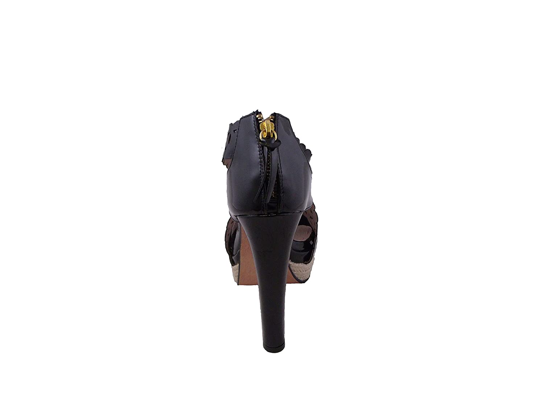 Blancho Bedding High Heels Sandals Zipper US8.5