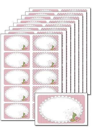 80 abl/ösbare Etiketten selbstklebend Fr/üchteetikett selbstgemacht bedruckbar f/ür Einmachgl/äser