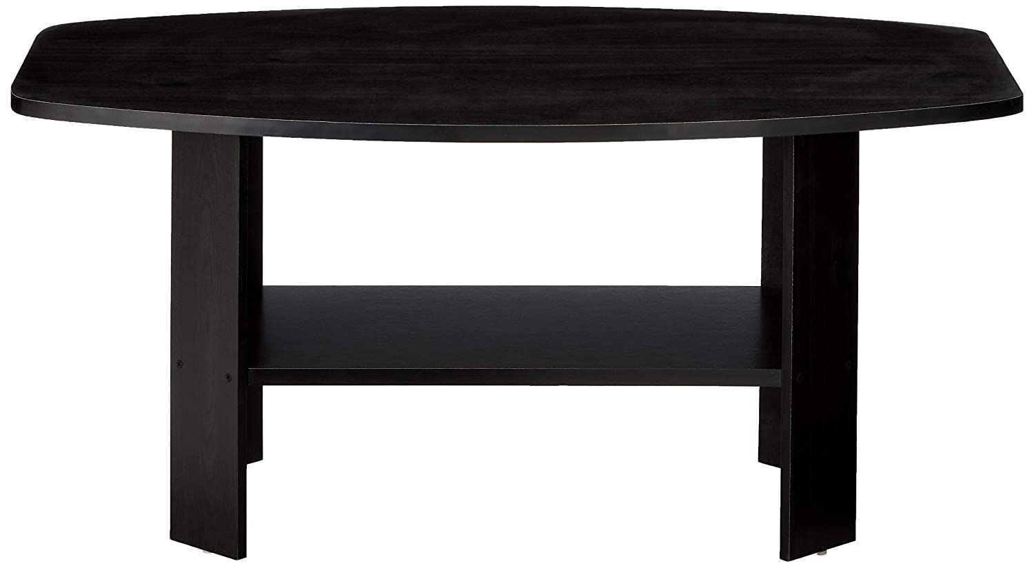 Espresso 34.5 x 21.5 x 16.3 inches ; 17.5 pounds Furinno 11179GYW//BK Table Basse