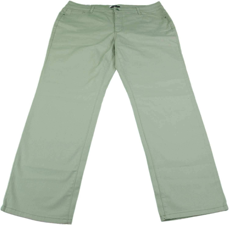 Bandolino Jeans Ladies Caroline Slim Straight Leg Jeans Creamstone