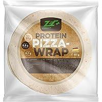 ZEC+ Proteïne-pizzabodes – 8 eiwitwraps als kant-en-klare pizzabodes om zelf te bezetten, ideaal voor een eiwitrijke…