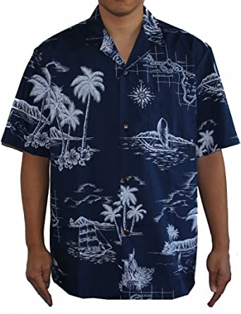 Mens Island Hibiscus Flower Hawaiian Aloha Shirt Alohawears Clothing Company Sales