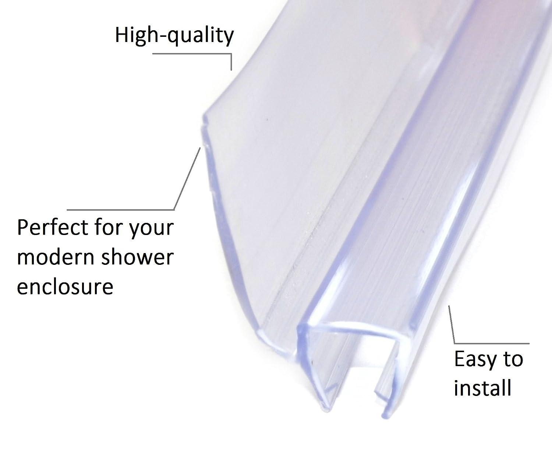 Joint /Étanch/éit/é Douche Joint de Rechange Joints Douche /Épaisseur de Verre de 6mm /à 8mm Joint Porte Douche Joint pour Douche 002 90cm