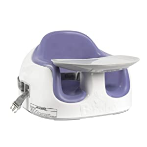 Bumbo Multi Seat, Baby Bumbo Seat with Tray, Converts into a Booster Seat and Highchair, Baby Bumbo Seat - Jacaranda