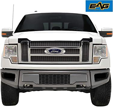 EAG Lower Bumper Grilles Charcoal Gray Grill Fit for 09-14 Ford F150 OE Bumper
