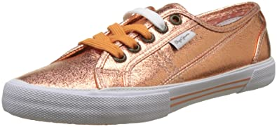 0318cc698ad Pepe Jeans Women s s Aberlady Met 18 Trainers  Amazon.co.uk  Shoes ...