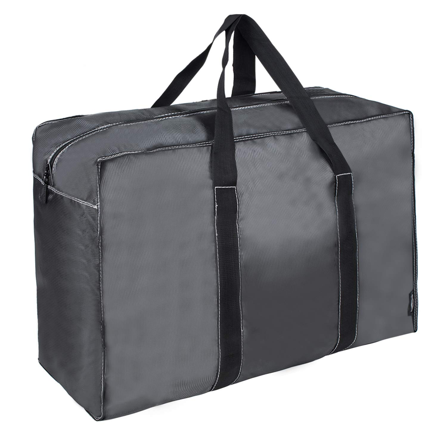 DOKEHOM DKA1015DGXL 130L Thickened X-Large Storage Bag (4 Colors), Fabric Clothes Bag, Ultra Size Under Bed Storage, Moisture Proof (Dark Grey, XL)