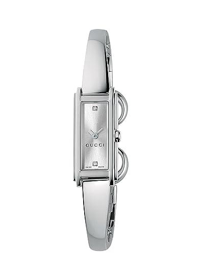 Gucci YA109519 - Reloj de cuarzo para mujer, con correa de acero inoxidable, color
