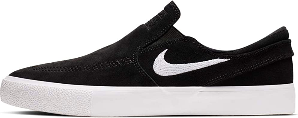 Tomar represalias dominar refrigerador  Amazon.com | Nike SB Zoom Stefan Janoski Slip RM Men's Shoes - AT8899 (11.5  M US, Black/White-White) | Skateboarding