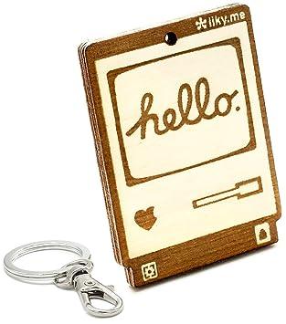 LIKY® Ordenador Apple Macintosh 128K Hello World - Llavero ...