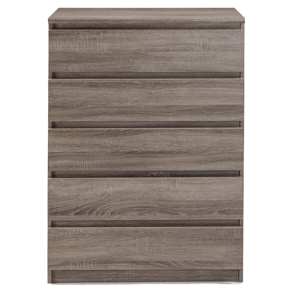 Tvilum 7029520 Scottsdale 5 Drawer Chest, Coffee