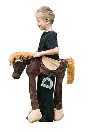 Ride on Pony Kids Animal Horse Cowboy Childrens Kid Costume  sc 1 st  Amazon UK & Ride on Pony Kids Animal Horse Cowboy Childrens Kid Costume: Travis ...