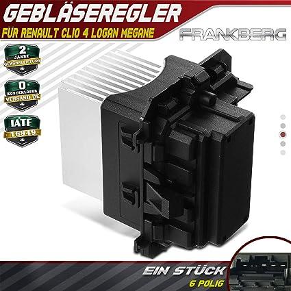 Motor de ventilador de resistencia del ventilador para Clio IV ...