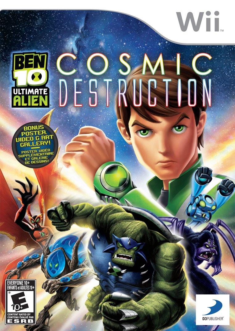 Ben 10: Ultimate Alien - Nintendo Wii