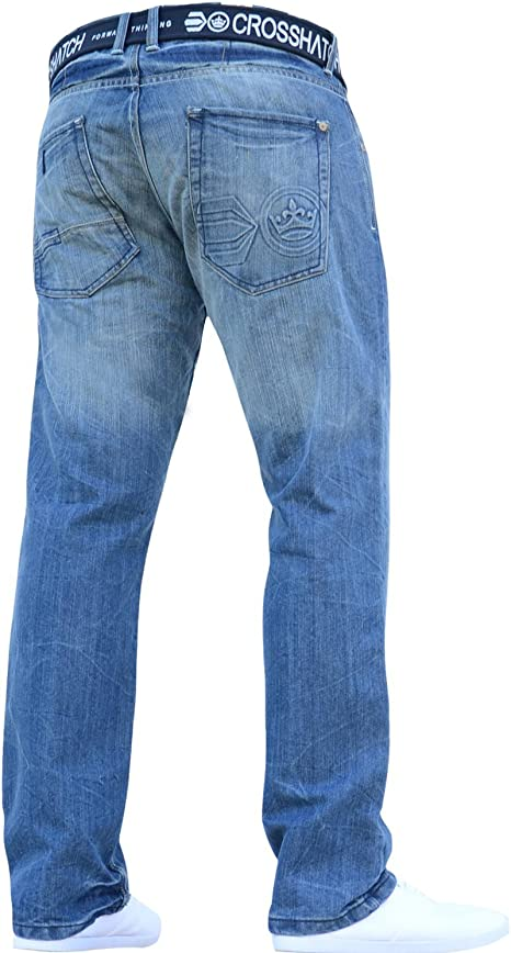 BNWT NEW MENS JEANS PANTS DENIM BLUE BOYS DESIGNER BRANDED ALL WAIST LEG SIZES