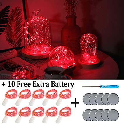 Christmas Homecoming Mum.Fainyearn 10 Pack Fairy Lights Battery Operated 20 Led Homecoming Mum Lights Copper Wire Lights For Christmas Easter Halloween Valentine Church