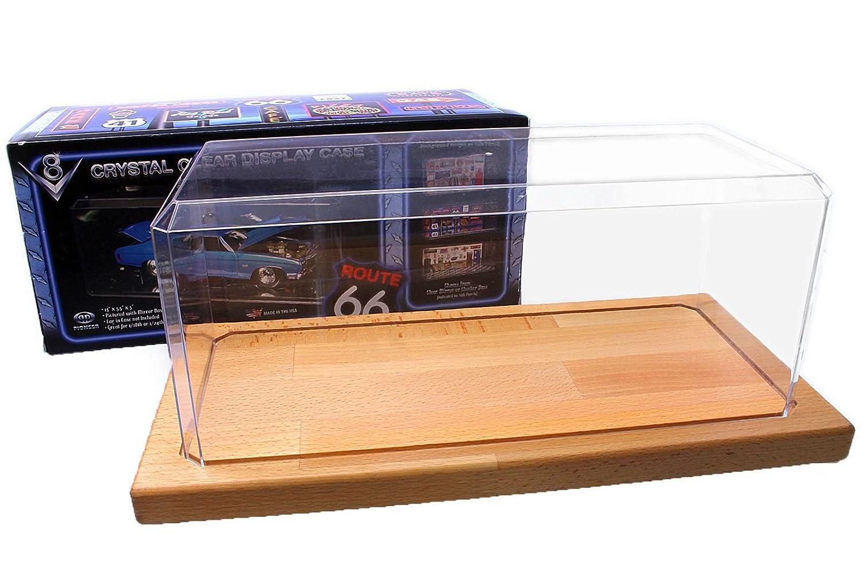 Vitrine De Voitures Miniatures 1 18 Avec Plancher En Bois En