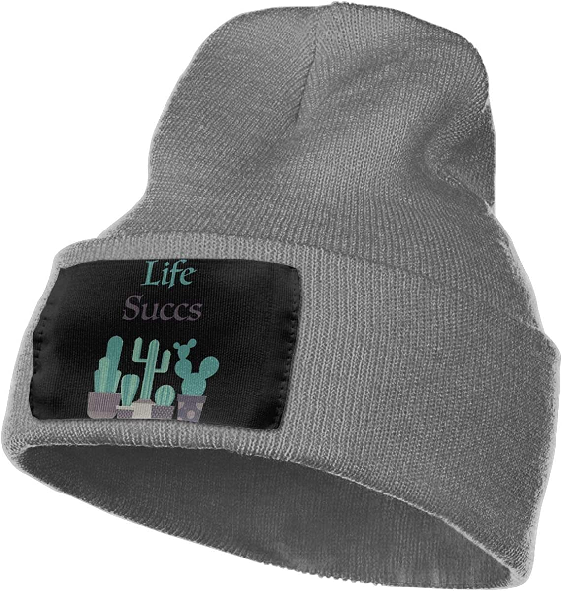 Life Succs Men /& Women Knitting Hats Stretchy /& Soft Beanie Cap Hat Beanie
