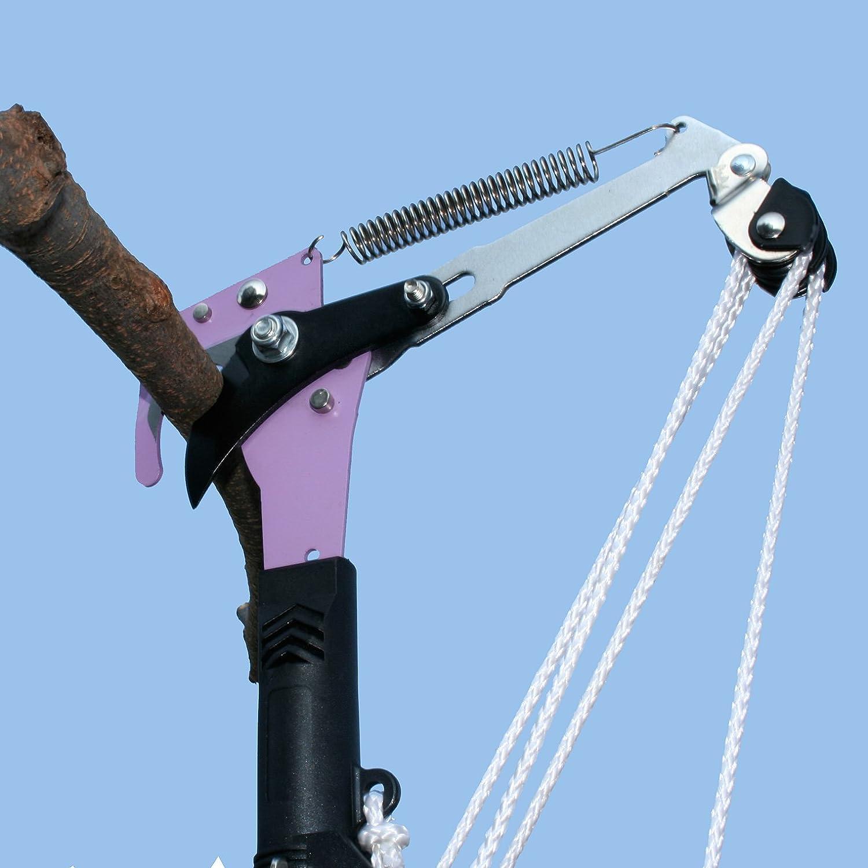 【高枝切りハサミ】 5メートルの高さまで届く高枝切りハサミ TA-11