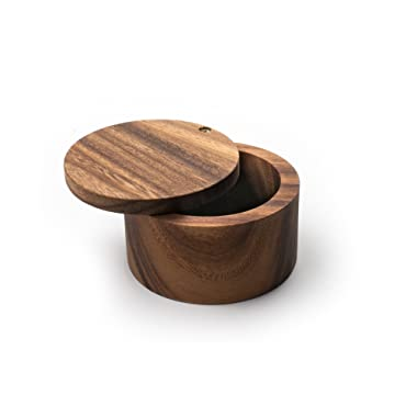 Ironwood Gourmet 28221 Appalachian Salt Cellar, Acacia Wood