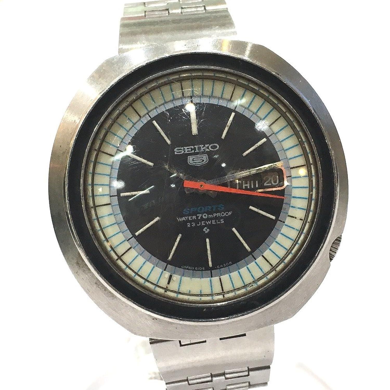(セイコー) SEIKO 6106-6440 回転インナーベゼル 5Sports 5スポーツ メンズ腕時計 腕時計 SS メンズ 中古 B06XNJRLSG