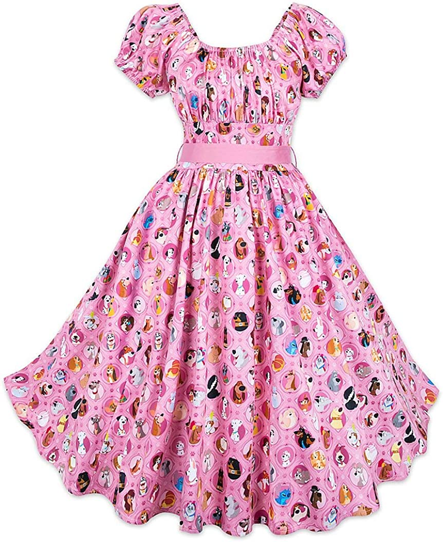 DisneyParks Disney Dogs Dress for Women Pink (L)