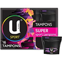 U by Kotex Sport Tampons, Super (Pack of 16)