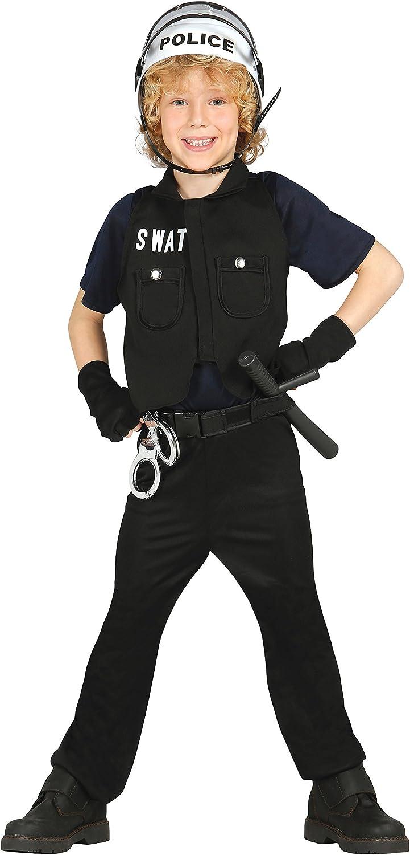 Guirca- Disfraz policía S.W.A.T, Talla 10-12 años (85649.0 ...