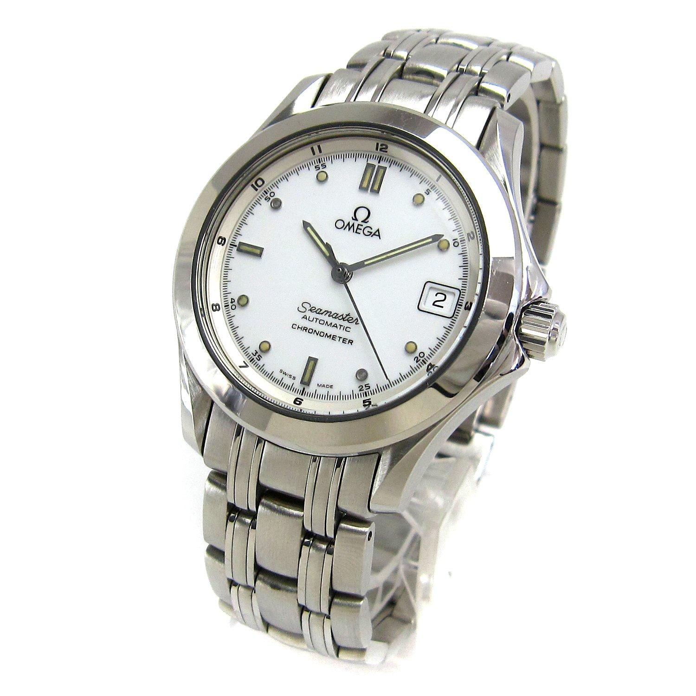 [オメガ]OMEGA 腕時計 シーマスター120 オート 白文字盤 watch メンズ 中古 B07DPM36Q8