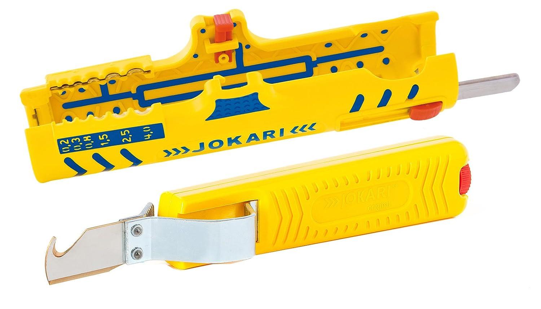 Jokari Abisolier Set - Jokari Abisoliermesser No. 28 H Standard + Jokari Secura Super Entmantler No.15