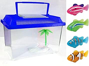 Crazygadget Robot Fish Tank Water Activated Battery Powered