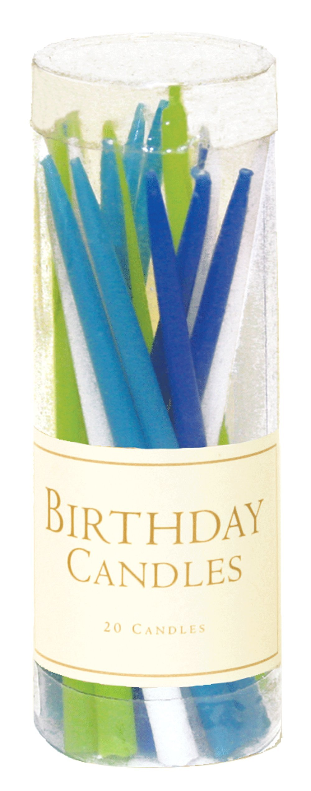 Entertaining with Caspari Birthday Candles, Ocean