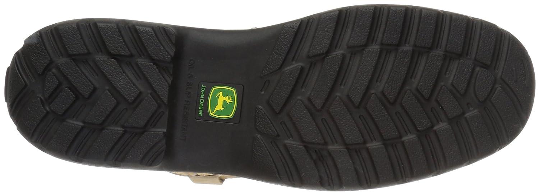 John Deere Women's JD3204 Mid Calf Boot B005PPL19E 7.5 W US|Brown