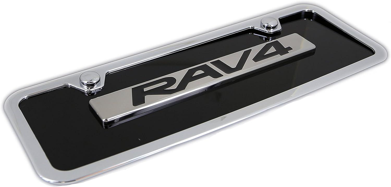 TOYOTA RAV4 Chrome Engraved Name Badge-Min