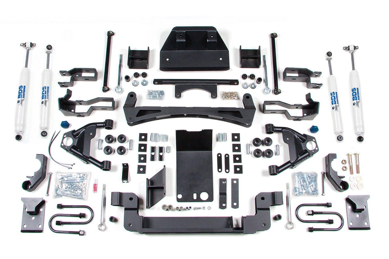 BDS 164H 95-04 S10/15 ZR2 4wd 5/4 5 Spring Suspension Kit