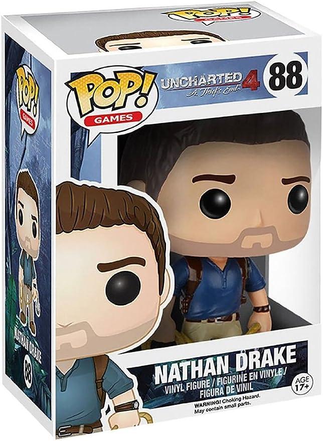 POP! Vinilo - Games: Uncharted: Nathan Drake: Funko Pop! Games:: Amazon.es: Juguetes y juegos