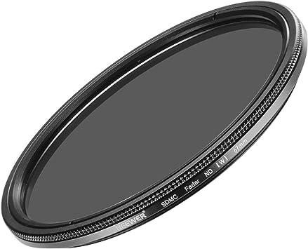 Variable ajustable 67mm Slim Filtro ND-ND2-ND400 Estuche Inc.