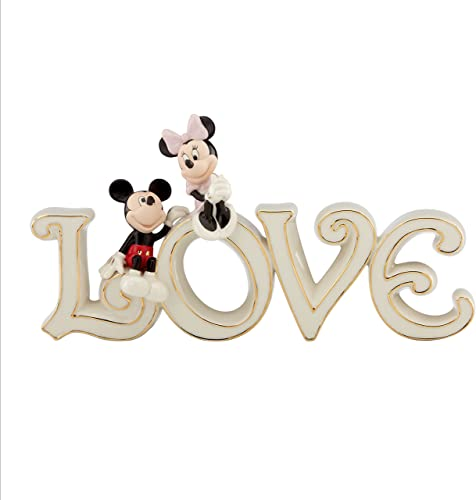 Lenox Mickey and Minnie True Love Figurine 827438