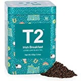 T2 Tea Irish Breakfast Black Tea, Loose Leaf Black Tea in Limited Edition Tin, 100 g