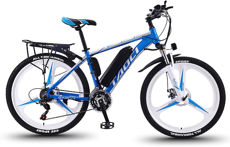 Hyuhome Bicicletas eléctricas para Adultos, de aleación de magnesio Ebikes Bicicletas Todo Terreno, 26