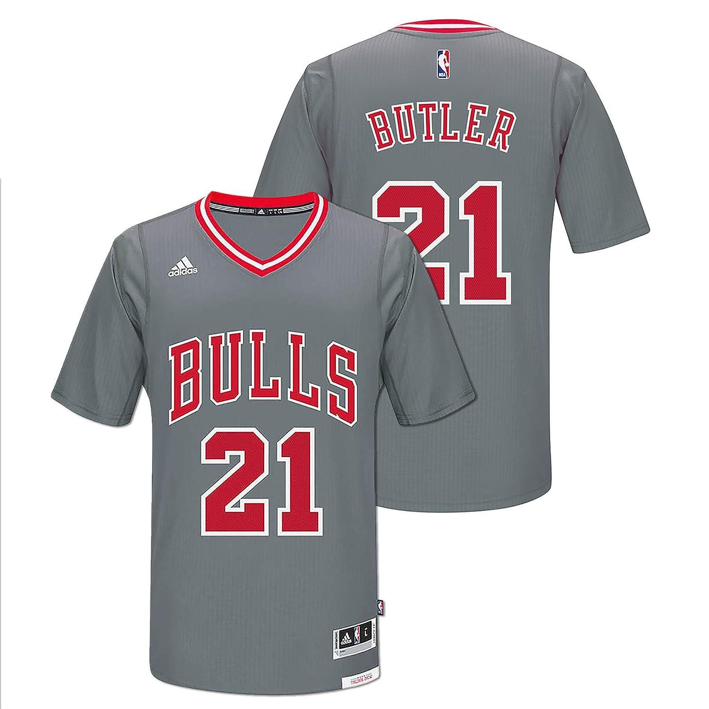 Amazon.com   adidas Jimmy Butler Chicago Bulls Pride Swingman Jersey (Gray)    Sports   Outdoors 5d103e925