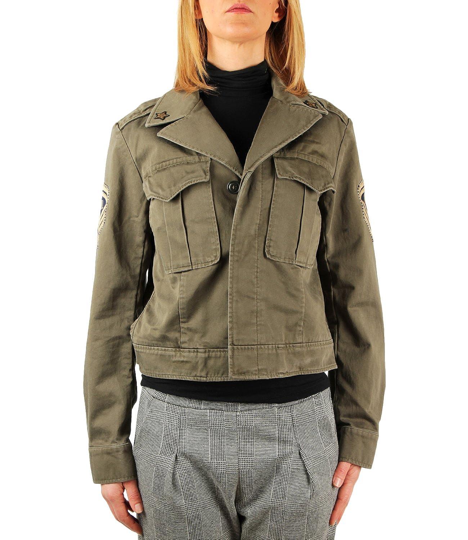 Polo Ralph Lauren Giacca Militare in Cotone Donna Mod. 211684238 M ...
