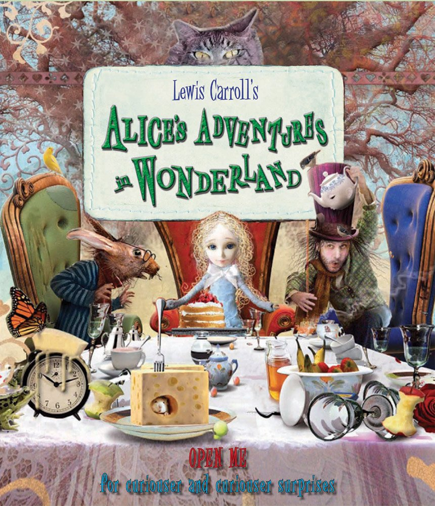 """Download Alice's Adventures in Wonderland: """"Open Me for Curiouser and Curiouser Surprises"""" ebook"""