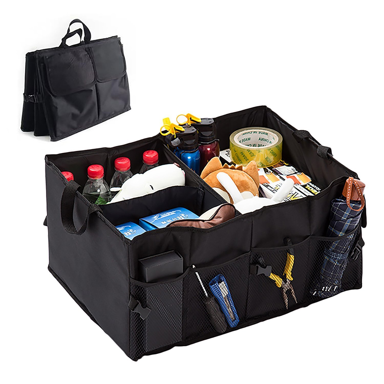 Car Storage Bag >> Car Trunk Organizer Box Foldable Thickened Oxford Car Storage Bag 40l Durable Toolbox For Suv