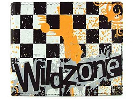 CARTERA JUVENIL PIEL WILDZONE COLECCION BOMBAY WHITE-BLACK