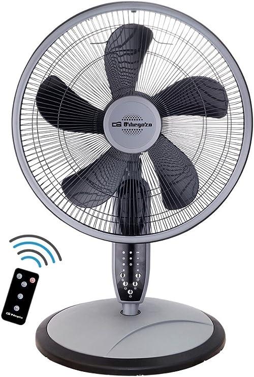 Orbegozo SF 0246 – Ventilador de pie, sobremesa o pared, con mando a distancia, 3 modos de funcionamiento (normal, brisa y noche), temporizador, 3 velocidades, 40 cm ...