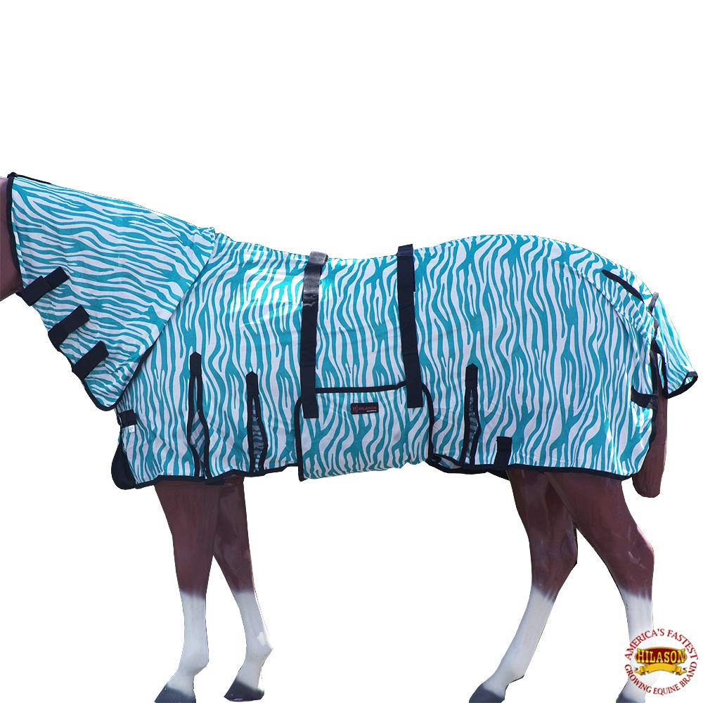 HILASON 72'' Horse Fly Sheet Uv Protect Mesh Bug Mosquito Summer Spring by HILASON