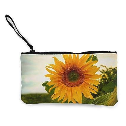 TTmom Carteras de Mujer, Monedero, Sunflower Wallpaper ...