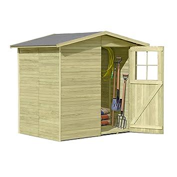 Fabulous Gerätehaus aus Holz Modell Frankfurt 180 x 145 cm von Gartenpirat  UL64